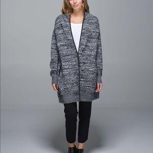 Lululemon Cardi All Day Merino Wool Cardigan
